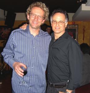 Mark Van Wageningen with Rolando Morales