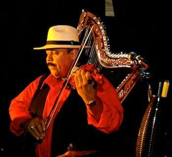 Carlos Reyes 2015 on violin