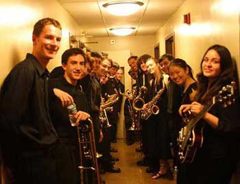 UC Jazz Club's First Members