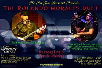 Rolando Morales and Omar Ledezma at Fairmont San Jose June 16