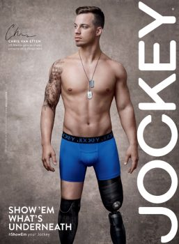 Chris Van Etten appears in the new Jockey campaign What's Underneath (PRNewsFoto/Jockey)