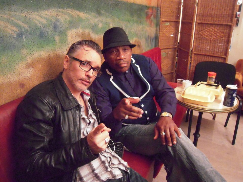Laurent Mercier and John Lee Hooker, Jr.