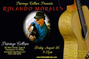 Rolando Morales Performs Pairings Cellars Solo