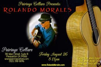 Rolando Morales Performs Pairings Cellars Solo