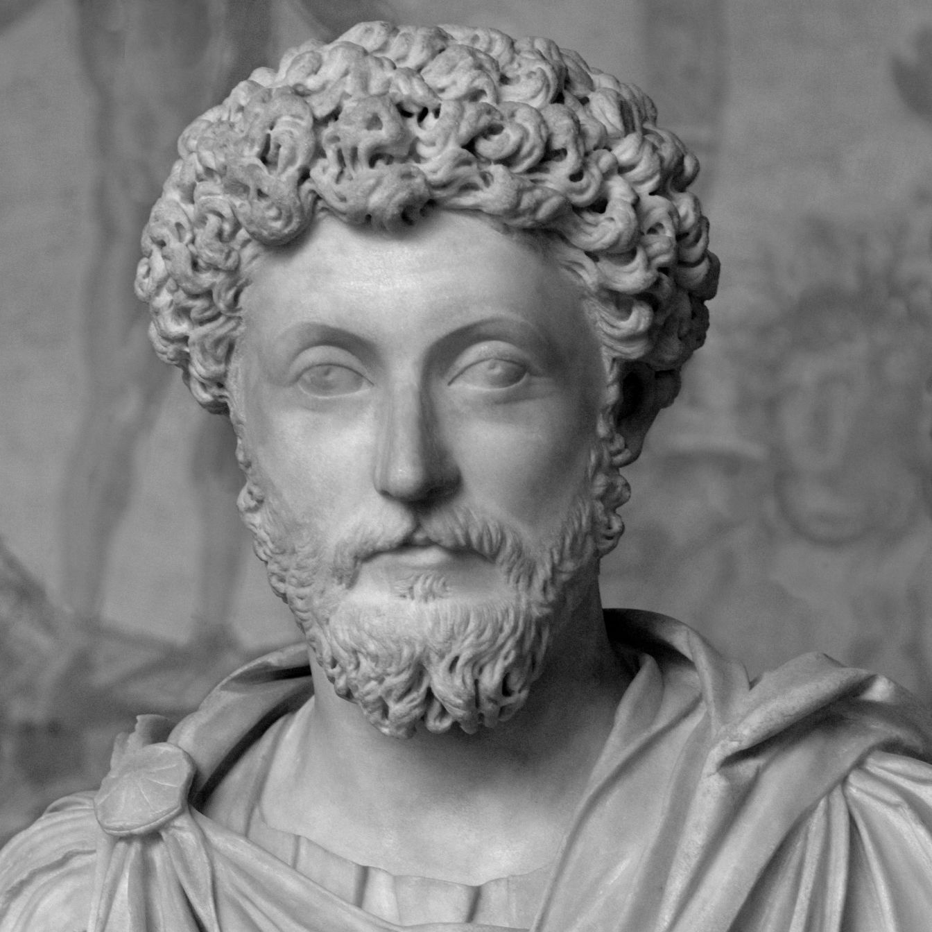 Marcus Aurelius, author of Meditations.