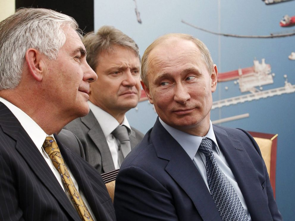 World Peace in the hands of Tillerson?