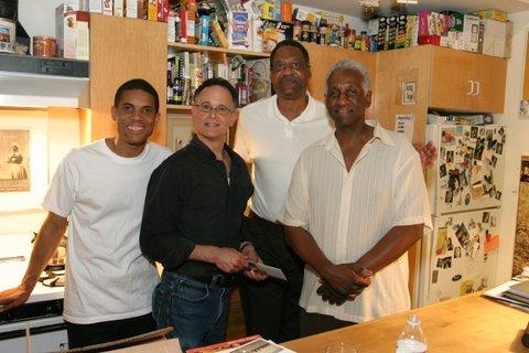 Stanley Jordan, Rolando Morales, Ranie Smith and Lloyd Gregory