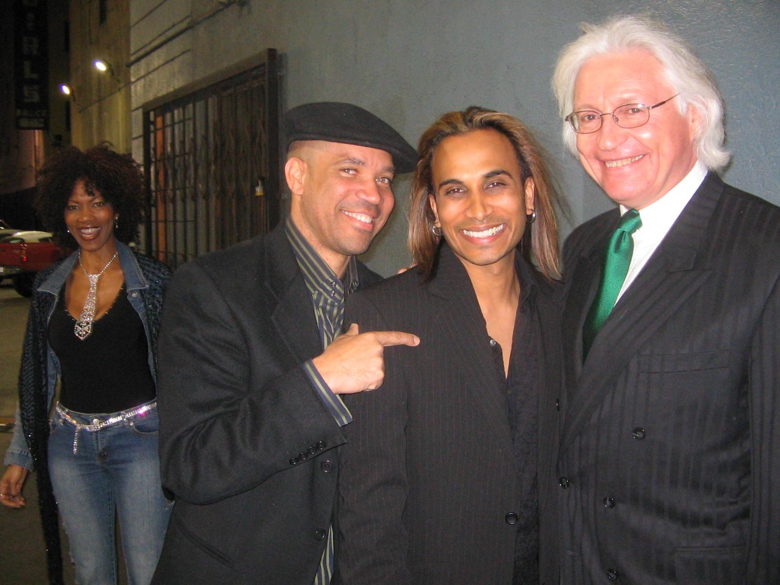 Kerry Gordy with Reggie Benjamin