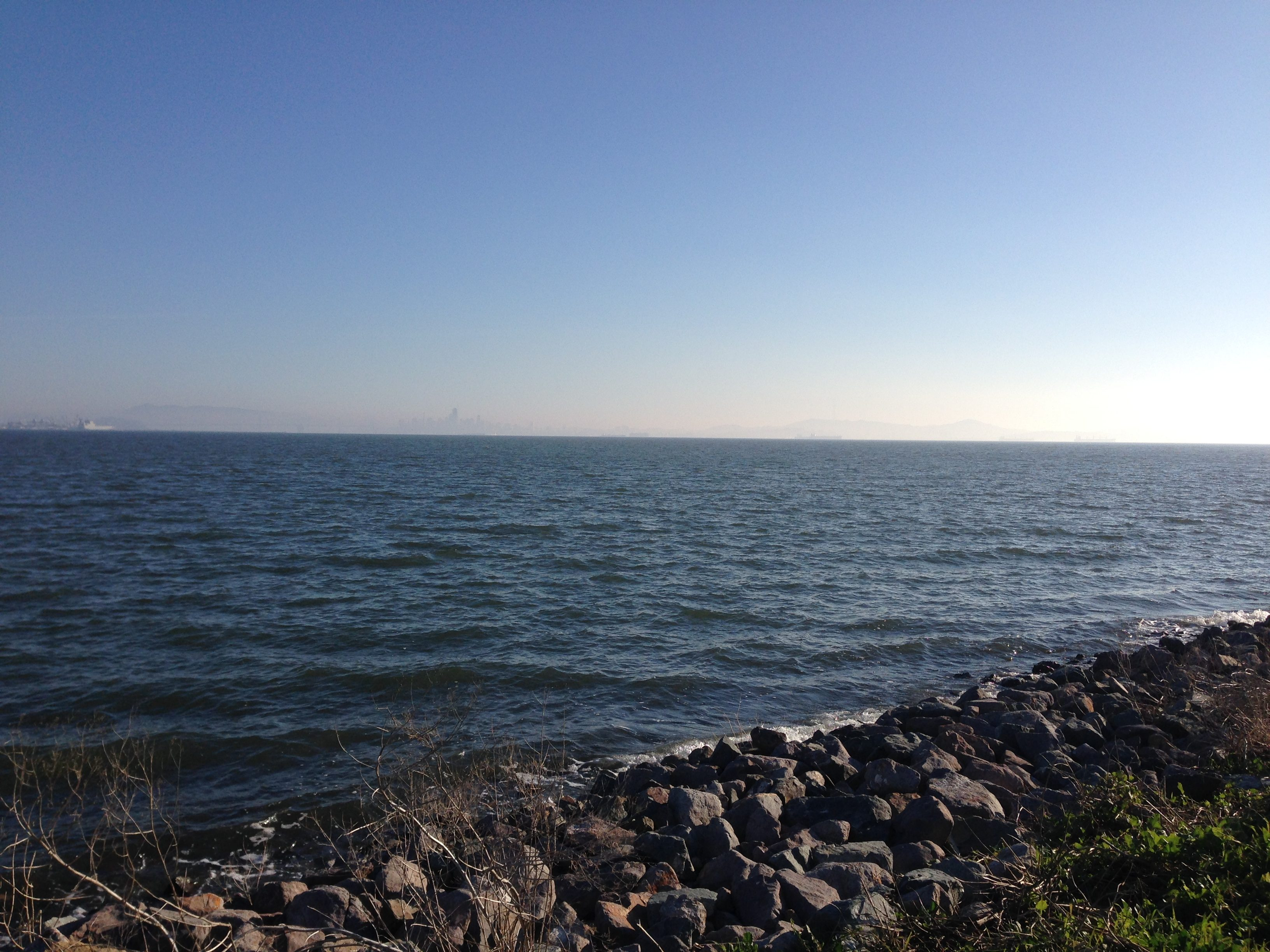 Go for a hike at the  Alameda Shore