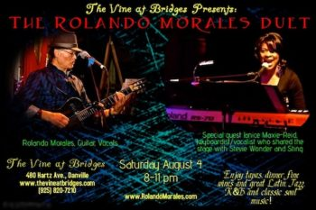 The Vine at Bridges features Rolando Morales and Janice Maxie-Reed on August 4, 2017