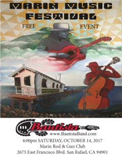 Join Bautista Band at 5pm this Saturday