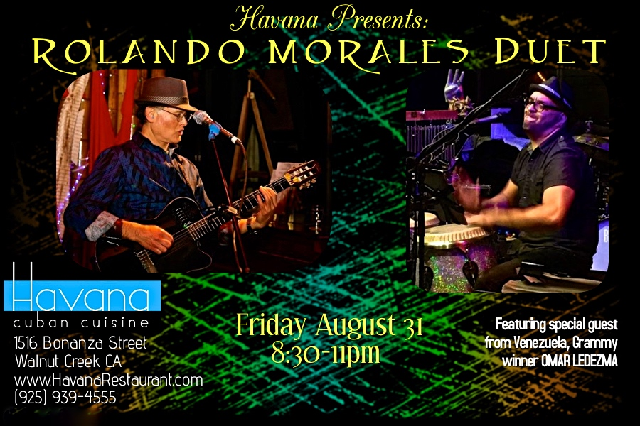 Omar Ledezma joins Rolando Morales at the Havana Friday, August 31, 2018