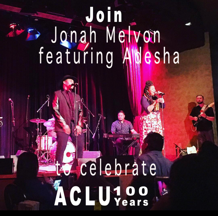 Join Jonah Melvon featuring Adesha on Saturday March 30 to celebrate the 100 Year ACLU anniversary at Jack London Square at 3:30pm