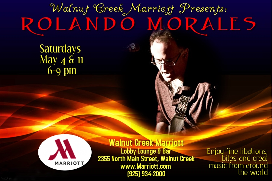 Rolando Morales on Saturday, May 11, at the Marriott in Walnut Creek