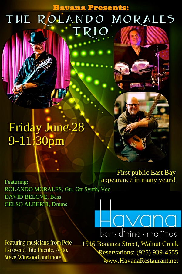Rolando Morales is joined by David Belove and Celso Alberti for the June 28, 2019 Havana Show