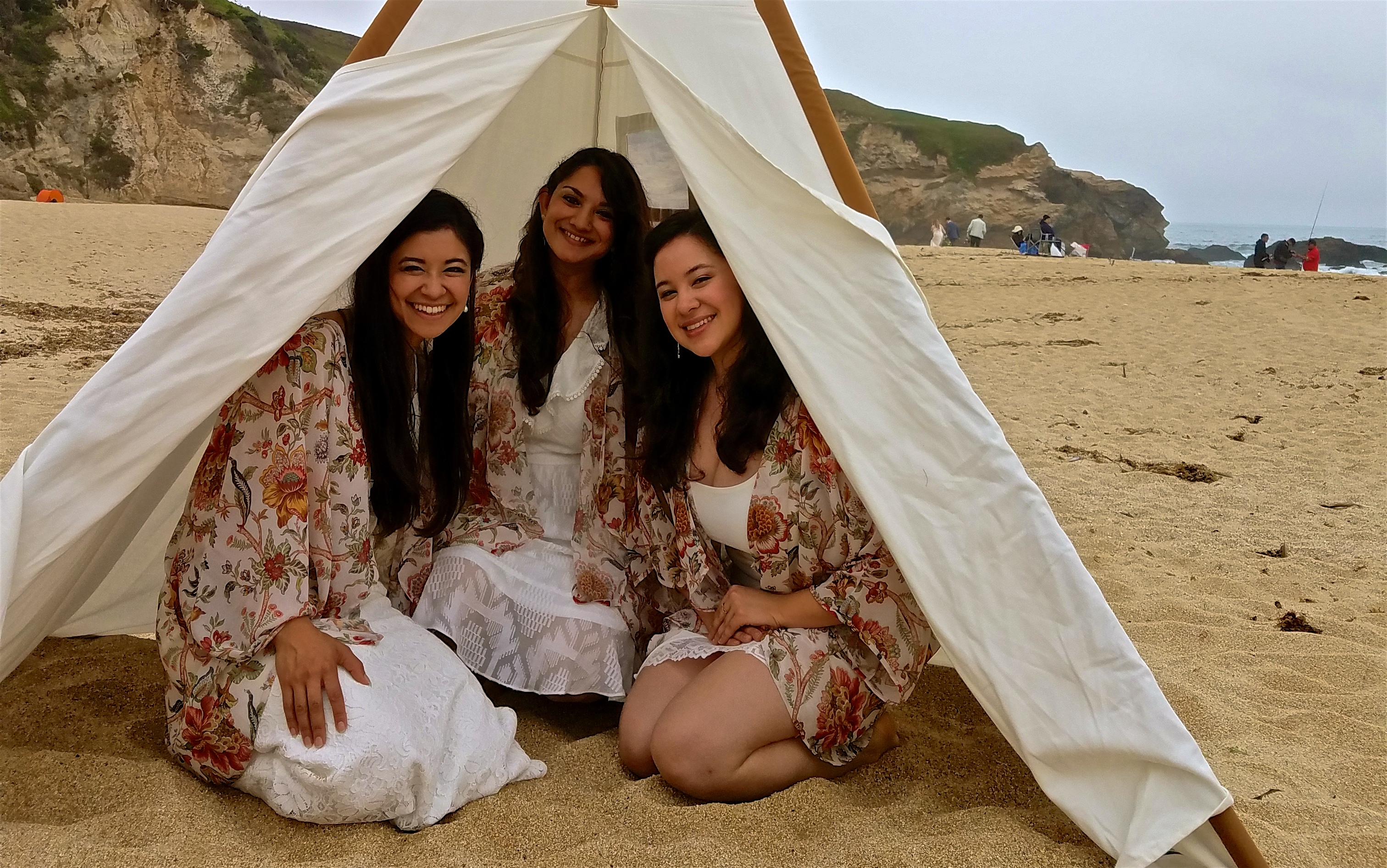 At the Montara Beach wedding