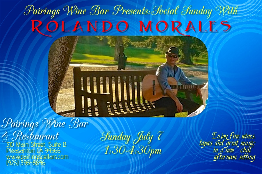 Rolando Morales Trio will perform at Havana's in Walnut Creek, Friday June 28, 2021